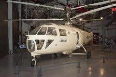 Elicottero Breguet G 111 & x28; 1948& x29; nel museo di astronautica a Fotografia Stock Libera da Diritti