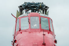 Elicottero d'annata fotografia stock
