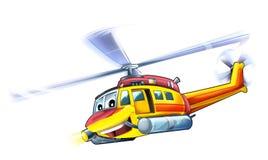 Elicottero del fumetto Fotografie Stock