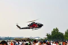 Elicottero della COBRA AH1-F di Bell a POLARIZZAZIONE 2015 Immagine Stock