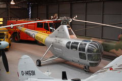Elicottero della libellula di Sikorsky Fotografie Stock