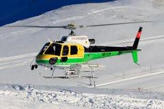 Elicottero dello svizzero di Eurocopter AS350 B3 HB-ZJP Immagini Stock Libere da Diritti