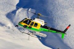Elicottero dello svizzero di Eurocopter AS350 B3 HB-ZJP Fotografia Stock Libera da Diritti