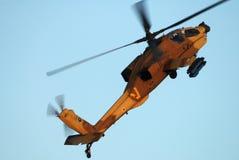 Elicottero di AH-64 Apache Immagini Stock Libere da Diritti