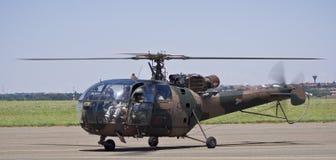 Elicottero di Alouette III - SAAF 628 Fotografia Stock Libera da Diritti
