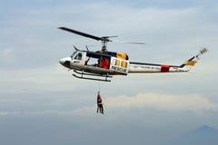 Elicottero di Huey Fotografia Stock