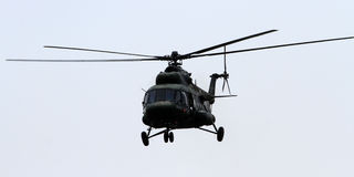 Elicottero di MI 17 Fotografie Stock
