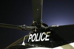 Elicottero di polizia Immagine Stock