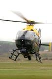 Elicottero di polizia. Fotografia Stock