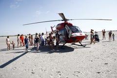 Elicottero di salvataggio Immagine Stock Libera da Diritti