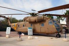 Elicottero di trasporto di Sikorsky CH-53 Fotografie Stock Libere da Diritti