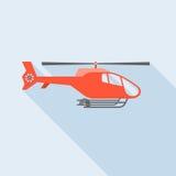 Elicottero di volo Fotografia Stock