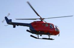 Elicottero durante il volo Immagine Stock Libera da Diritti