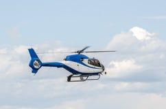 Elicottero durante il volo Immagine Stock