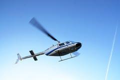 elicottero fuori dalla cattura Fotografia Stock Libera da Diritti