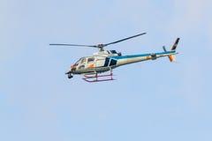 Elicottero giapponese della televisione immagine stock libera da diritti