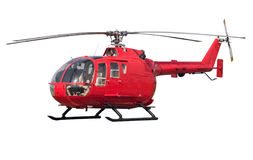 Elicottero isolato Fotografia Stock Libera da Diritti