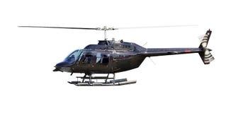 Elicottero isolato Fotografie Stock Libere da Diritti