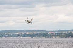 Elicottero Ka-52 Hokum B Fotografia Stock