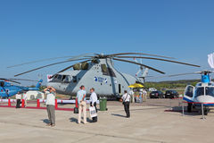 Elicottero Mi-26 Fotografia Stock Libera da Diritti