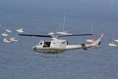 Elicottero militare. immagine stock