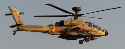 Elicottero militare Immagini Stock