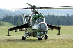 Elicottero militare Fotografie Stock Libere da Diritti