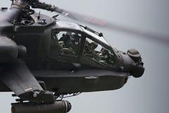 Elicottero militare di Apache Immagine Stock