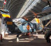 Elicottero militare editoriale Bruxelles Belgio di Sikorsky S-58 Fotografia Stock