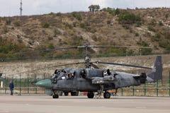 Elicottero militare Ka-52 Immagini Stock Libere da Diritti