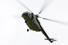 Elicottero militare MI 171 Fotografie Stock