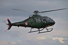 Elicottero militare polacco Fotografia Stock
