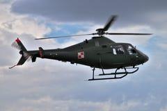 Elicottero militare polacco Fotografia Stock Libera da Diritti
