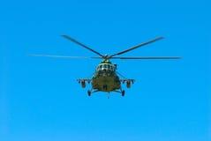 Elicottero militare russo Fotografia Stock