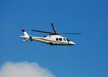 Elicottero moderno fotografia stock libera da diritti