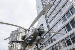 Elicottero munito Fotografia Stock