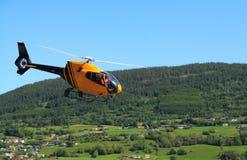 Elicottero in Norvegia fotografie stock
