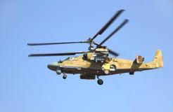 Elicottero russo Ka-52 Immagini Stock
