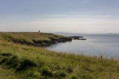 Elie Coast in Fife Scotland Royalty Free Stock Photos