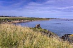 Elie coastline Royalty Free Stock Images