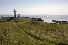 Elie Lighthouse in Fife Scotland Royalty Free Stock Image