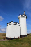 Elie Ness Lighthouse, Neuk est, fifre, Ecosse Photo stock