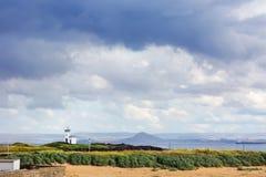 Elie Ness Lighthouse Skottland Royaltyfri Bild