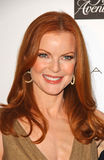 Elie Tahari, Marcia Cross Stock Images