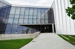 Elien och Edythe Broad Art Museum Broad MSU på Michiganuniversitetet i East Lansing, MI Royaltyfri Bild