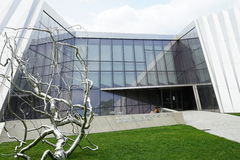 Elien och Edythe Broad Art Museum Broad MSU på Michiganuniversitetet i East Lansing, MI Royaltyfria Foton