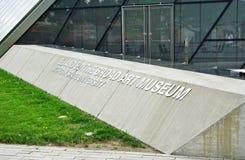 Elien och Edythe Broad Art Museum Broad MSU på Michiganuniversitetet i East Lansing, MI Fotografering för Bildbyråer