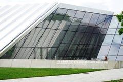 Elien och Edythe Broad Art Museum Broad MSU på Michiganuniversitetet i East Lansing, MI Arkivfoton