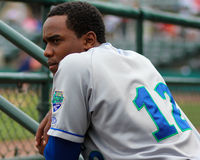 Elier Hernandez, Lexington Legends Royalty Free Stock Photos