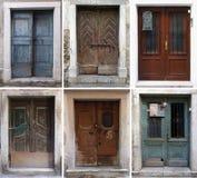 Elija la puerta Foto de archivo libre de regalías